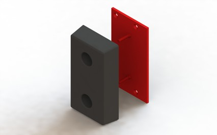 Dock Bumper Mounting Extras