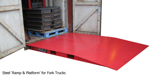 Ground Level Container Access Ramps Thorworld Industries
