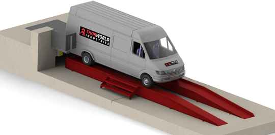 Van Docking Ramps