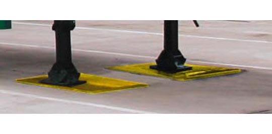 Trailer Landing Leg Support Thorworld Industries