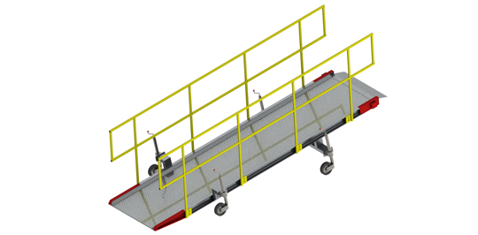 Aluminium Walkramps