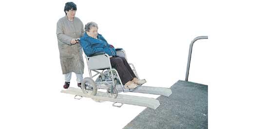 Folding Wheelchair Ramps