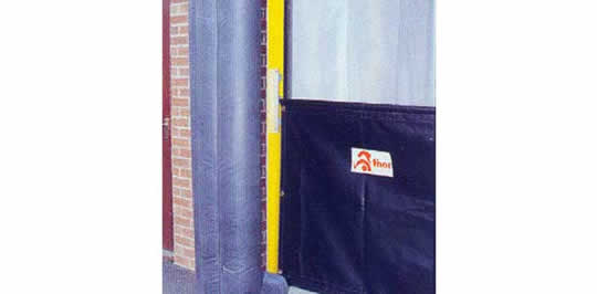 Dock Shelter Curtains Amp Aprons Thorworld Industries